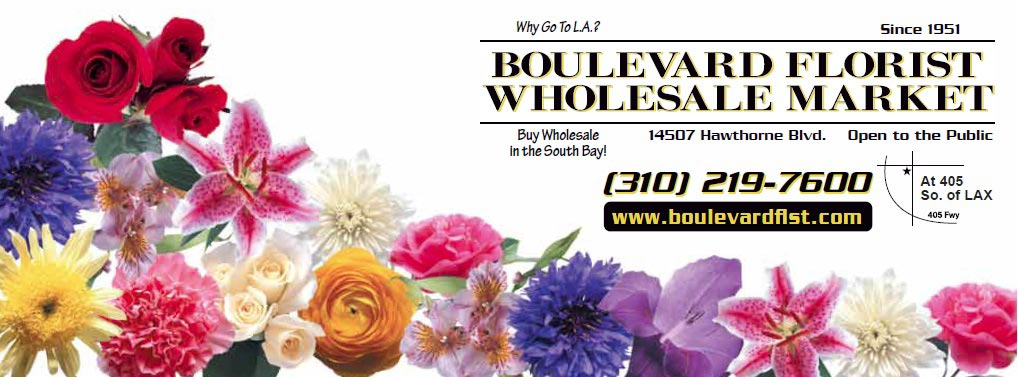 Boulevard Florist Wholesale Market in Lawndale, CA