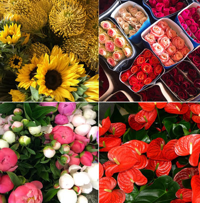 Our Wholesale Flower Division is the place to go for bulk orders.