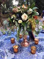 Centerpiece from Boulevard Florist Wholesale Market