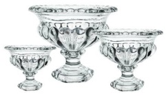 Glass Compote - Small from Boulevard Florist Wholesale Market