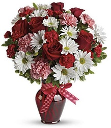 Hugs and Kisses from Boulevard Florist Wholesale Market