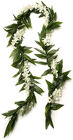 Lei - Deluxe Meile - White from Boulevard Florist Wholesale Market