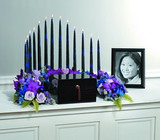 Candle Arch Memorial from Boulevard Florist Wholesale Market