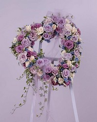 Lavender Rose Heart from Boulevard Florist Wholesale Market