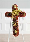 Red and Green Cross from Boulevard Florist Wholesale Market