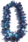 Lei - Dendrobium Orchid - Single Dyed Blue from Boulevard Florist Wholesale Market