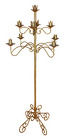 Candelabra - Brass 9 candle from Boulevard Florist Wholesale Market