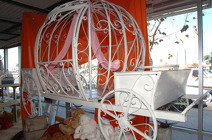 Carriage from Boulevard Florist Wholesale Market