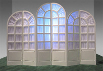 Window Panel Set from Boulevard Florist Wholesale Market