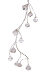 6' Silver Prism Garland from Boulevard Florist Wholesale Market