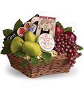 Delicious Delights Basket from Boulevard Florist Wholesale Market