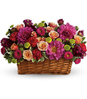 Burst of Beauty Basket from Boulevard Florist Wholesale Market