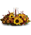 Sunflower Centerpiece from Boulevard Florist Wholesale Market