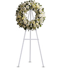 Serenity Wreath from Boulevard Florist Wholesale Market