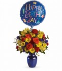Fly Away Birthday Bouquet from Boulevard Florist Wholesale Market