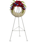 Reflections of Glory Wreath from Boulevard Florist Wholesale Market