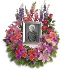 In Memoriam Wreath from Boulevard Florist Wholesale Market