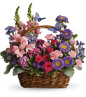Country Basket Blooms from Boulevard Florist Wholesale Market