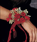 Red-Hot Roses Wristlet from Boulevard Florist Wholesale Market