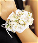 Mixed Whites Wristlet from Boulevard Florist Wholesale Market