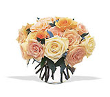 Perfect Pastel Roses from Boulevard Florist Wholesale Market