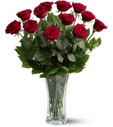 A Dozen Red Roses from Boulevard Florist Wholesale Market