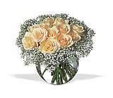 A Dozen White Roses from Boulevard Florist Wholesale Market