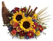Autumn Cornucopia from Boulevard Florist Wholesale Market