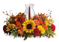 Thanksgiving Centerpiece from Boulevard Florist Wholesale Market