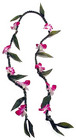 Ti Leaf Lei with Orchids from Boulevard Florist Wholesale Market
